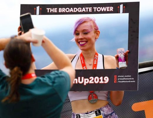 Bridget tower run up 2019