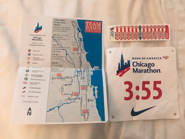 Chicago Marathon route & aim